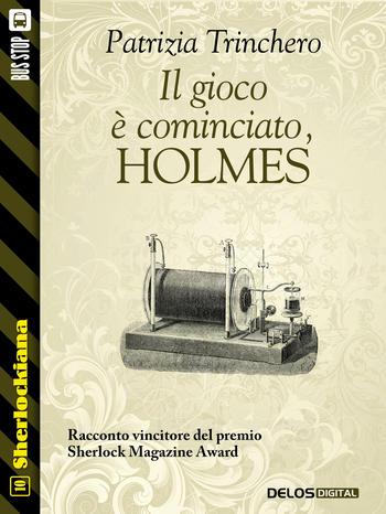 Il gioco è cominciato, Holmes! (copertina)