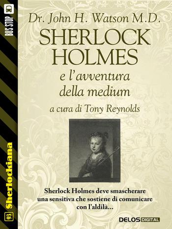 Sherlock Holmes e l'avventura della medium (copertina)