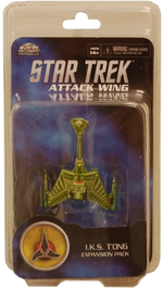 Star Trek Attack Wing : Expansion Pack : I.K.S. T'Ong  [WAVE  17]