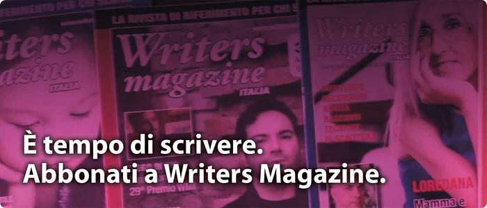 Abbonati a Writers Magazine